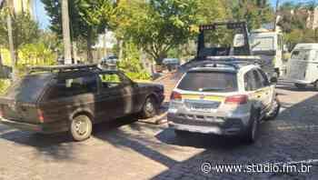 POE prende homem por embriaguez ao volante no centro de Nova Prata | Rádio Studio 87.7 FM - Rádio Studio 87.7 FM
