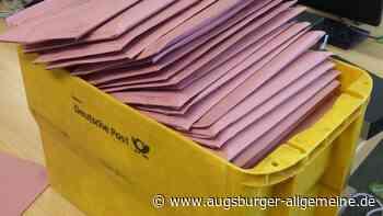 Stichwahl in Bobingen: Ist der Wahlbrief angekommen? - Augsburger Allgemeine