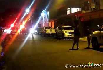 Un hombre muerto tras balacera en Curridabat - Teletica