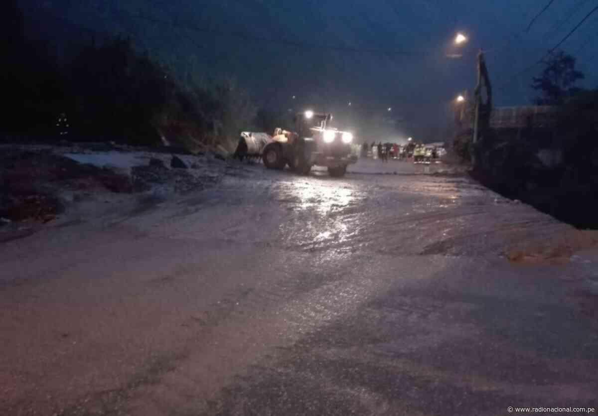Autoridades atienden emergencias en los distritos de Santa Lucía y Ayna de Ayacucho - Radio Nacional del Perú