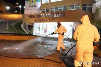 Prefeitura de Gaspar higieniza ambientes externos para prevenir contaminação por coronavírus - OCP News