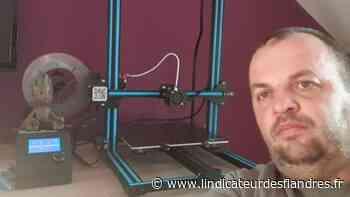 Estaires : il crée des visières avec une imprimante 3D - L'Indicateur des Flandres