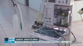 Unesp cede aparelhos de hospital veterinário em Jaboticabal para atender pacientes com Covid-19 - G1