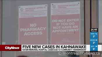 Five new cases in Kahnawake - CityNews Montreal
