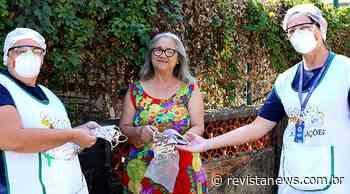 Voluntárias doam máscaras e toucas em Esteio - Revista News
