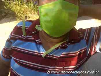 Estudante costura máscaras em casa e doa para caminhoneiros em Esteio - Diário de Canoas