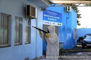 Prevenção ao coronavírus: Esteio adota processo de sanitização em espaços públicos - Diário de Canoas