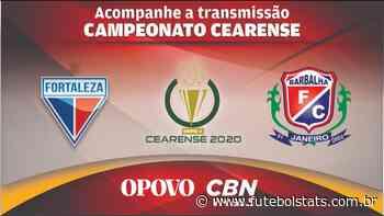 Narração Online de Fortaleza x Barbalha Futebol AO VIVO – Campeonato Cearense - Futebol Stats