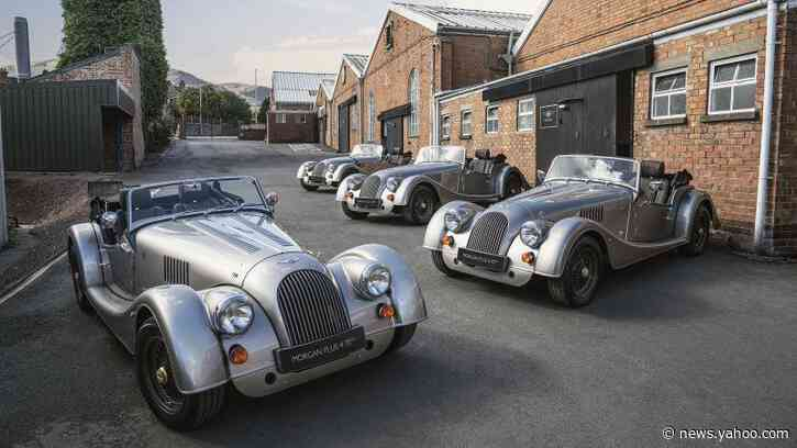 Check out the first of 20 Morgan Plus 4 70th Anniversary Editions