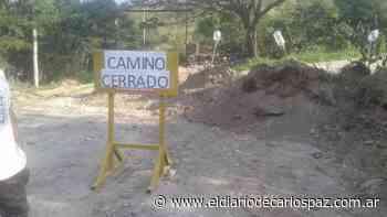 La Paisanita: El jefe comunal le puso «tranqueras» a los accesos - El Diario de Carlos Paz