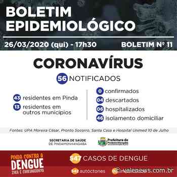 Pindamonhangaba tem 56 notificações e nenhum caso confirmado de coronavírus - Vale News
