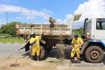 Limpeza pública tem redução de efetivo em Pindamonhangaba - Vale News