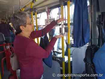 Coronavírus: Empresa São José coloca álcool gel dentro dos ônibus de Franca (SP) e divulga novos horários - Adamo Bazani