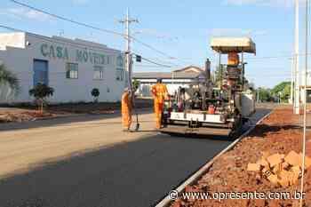 Revitalização da Rua Dr. Osvaldo Cruz em Mercedes recebe recapeamento asfáltico - O Presente