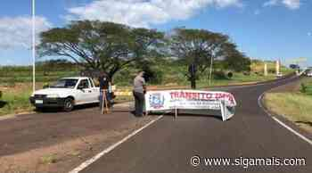 Cidades da região de Osvaldo Cruz fecham acessos em estradas - Siga Mais