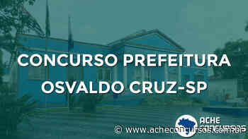 Concurso Prefeitura de Osvaldo Cruz-SP 2020 - Ache Concursos