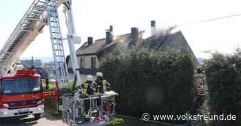 Wohnhaus brennt in Morbach-Heinzerath - Trierischer Volksfreund