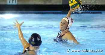 Laguna Beach's Nicole Struss repeats as Surf League girls' water polo MVP - Los Angeles Times