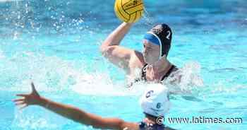 Huntington Beach's Emily Tucker earns Wave League girls' water polo MVP - Los Angeles Times