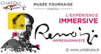 Renoir impressionniste, l'expérience immersive musée Fournaise 25 mars 2020 - Unidivers