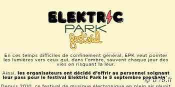 L'Elektric park, annuel festival de Chatou, offre leurs places aux personnels soignants - Temps Réel 78