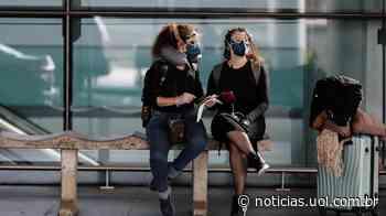 Covid-19: Guarulhos mede temperatura de passageiros de voos internacionais - UOL