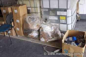Fábrica ilegal de álcool gel é fechada em Guarulhos - Metro Jornal