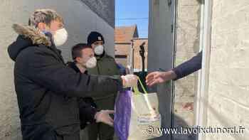 Trois jeunes de Vitry-en-Artois font les courses pour les personnes vulnérables ou isolées - La Voix du Nord