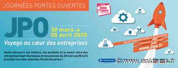 Journées Portes Ouvertes Entreprises Département de la Haute-Marne 30 mars 2020 - Unidivers