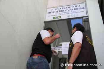 Igreja é interditada no meio do culto em Mimoso do Sul - Tribuna Online