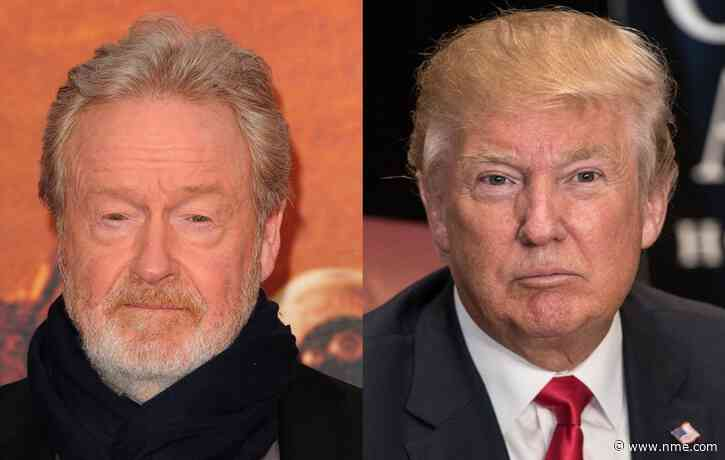 "Ridley Scott calls Donald Trump ""a nutcase"" over his handling of the coronavirus crisis"