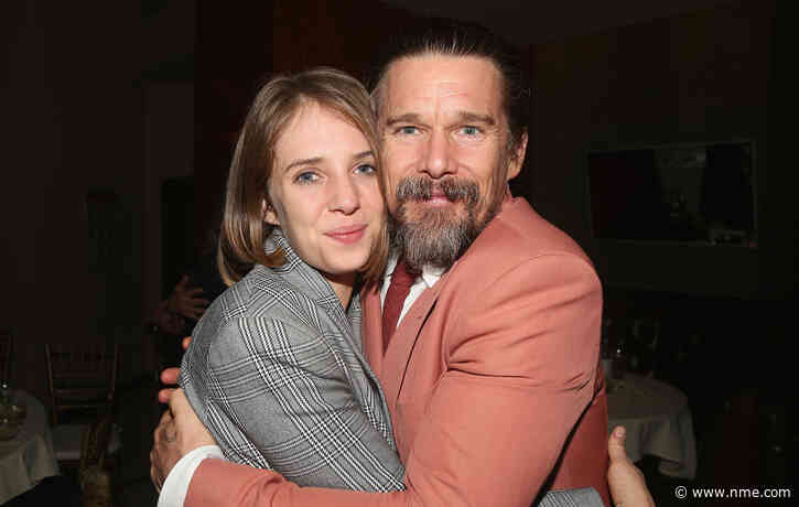 Watch Maya and Ethan Hawke stage family singalong to Townes Van Zandt during self-isolation