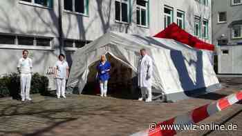Corona in Waldeck-Frankenberg: Klinik in Bad Arolsen gerüstet | Bad Arolsen - wlz-online.de