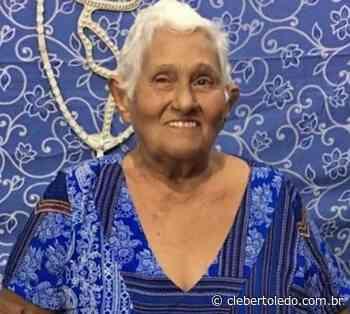 Dona Dica, primeira mulher a se eleger prefeita de Monte do Carmo, falece aos 89 anos - Cleber Toledo