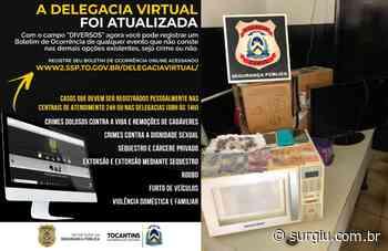 Polícia Civil prende homens após registro de Boletim de Ocorrência na Delegacia Virtual em Araguatins - Surgiu