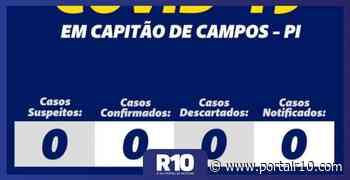 Capitão de Campos: Prefeitura monitora e mantém registro zero de COVID19 - Portal R10