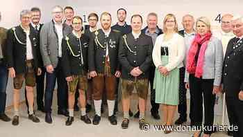 Zandt: Vollelektronische Schießstände eingeweiht - Zandter Limesschützen schließen Baumaßnahme ab - 35 Helfer leisten 1170 freiwillige Arbeitsstunden - donaukurier.de