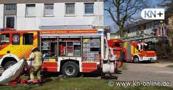 Brand in Mietwohnung - Feuerwehr holt Bewohner heraus - Kieler Nachrichten