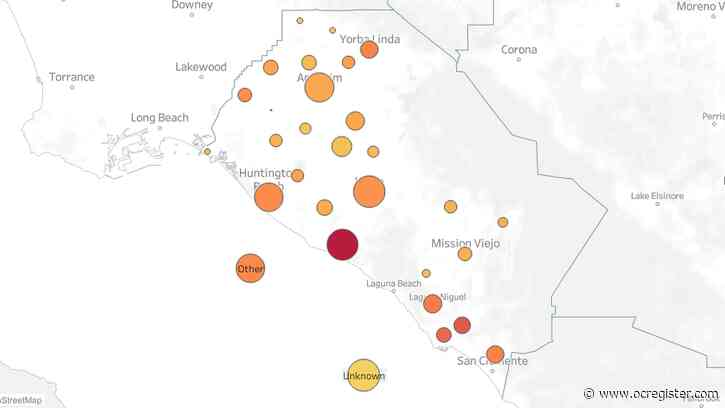 Map Shows Coronavirus Cases In Orange County Cities Anaheim News Newslocker
