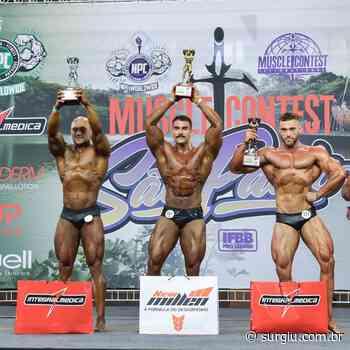 Sem público, Eduardo Machado fatura o 2º lugar na Muscle Contest International - Surgiu