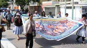 Pobladores de Morococha anuncian paro indefinido | Reportero Ciudadano - LaRepública.pe