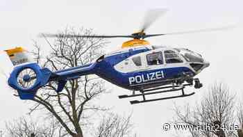 Suchaktion mit Polizei-Hubschrauber und mehreren Streifenwagen | Kreis Recklinghausen - ruhr24.de