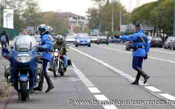 Soumoulou : deux motards de la gendarmerie renversés par une voiture - La République des Pyrénées