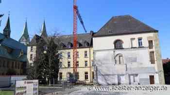 Der Umbau des ehemaligen Franziskaner-Klosters in Werl zum Wallfahrtszentrum wird im Mai fortgesetzt   Werl - Soester Anzeiger