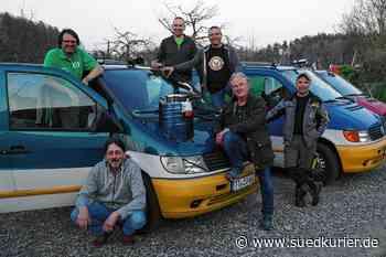 """Tettnang: Team """"Wüschte Vitotreiber"""" will bei Europa-Orient-Rallye teilnehmen und Hilfsgüter nach Jordanien bringen - SÜDKURIER Online"""
