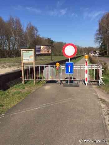 Grensversperring op Bels Lijntje (Baarle-Hertog) - Gazet van Antwerpen
