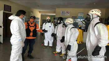 Desinfectan Hospital en Sabaneta de Barinas donde hay casos de Covid-19 - El Universal