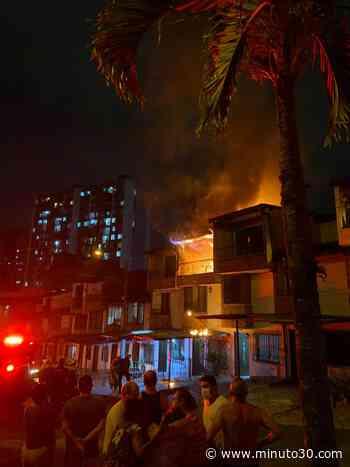 En fotos y video: Grave incendio en el municipio de Sabaneta no dejó personas lesionadas, solo pérdidas ... - Minuto30.com