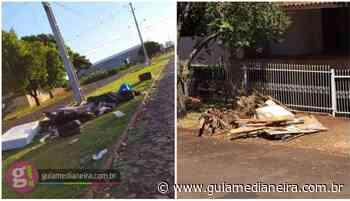 Medianeira: Moradores relatam lixo e entulhos em via pública - Guia Medianeira