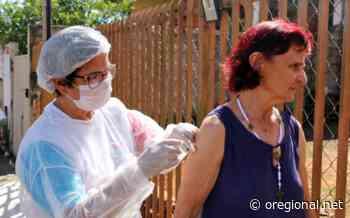 Holambra vacina quase metade da população idosa em 3 dias de campanha - O Regional